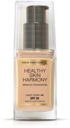 MAX FACTOR Healthy Skin Harmony Miracle Foundation SPF20 podkład do twarzy 40 Light Ivory 30ml