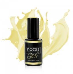 NEESS Lakier hybrydowy by CLEO 7592  Żółty Akustycznie 4ml