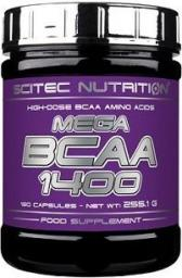 Scitec Nutrition Mega Bcaa 1400 - 180 kapsułek