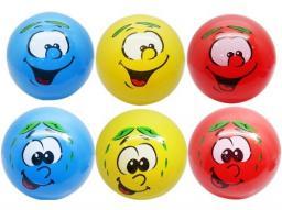 Mega Creative Kolorowa piłka z buźką  (G09034)