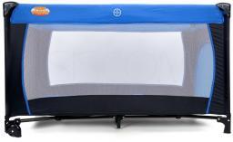 BABYMAXI Kojec - łóżeczko turystyczne BASIC Blue (645)