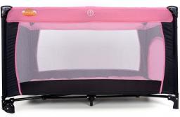 BABYMAXI Kojec - łóżeczko turystyczne BASIC Pink