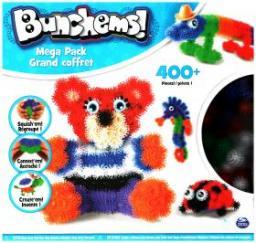 Spin Master Bunchems kolorowe rzepy Mega Zestaw (6026103)