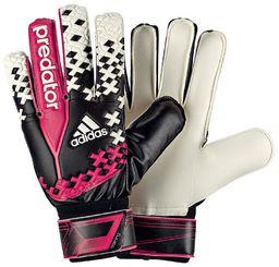 Adidas Rękawice bramkarskie Predator Training czarno-różowe r. 10 (G84127)