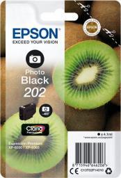 Epson Tusz 202 C13T02F14010 (Photo Black)