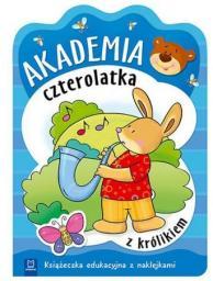 Akademia czterolatka z królikiem