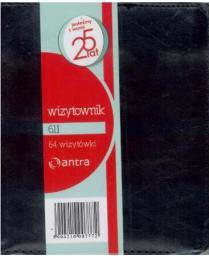 ANTRA Wizytownik 64 dwuklatkowy 611 (233389)