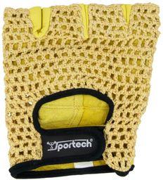 Sportech Rękawice Sportech żółte r. XL (2422)