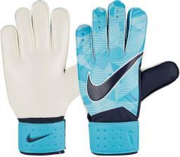 Nike Rękawice bramkarskie GK JR Match niebieskie r. 4 (GS0343 414)