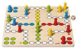 Goki Drewniana gra chińczyk - 244179