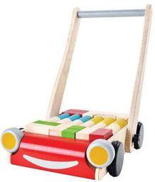 Goki Drewniany wózek - chodzik - 260903