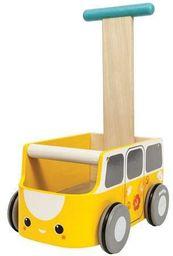 Goki Drewniany chodzik van żółty - 260904