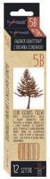 St. Majewski Ołówek Sześciokątny Cedrowy 5B Cerd Love p12 (5903235202131)