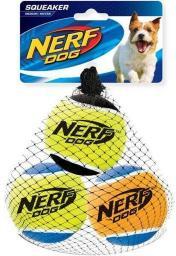 HAGEN Nerf Piłka Tenis Piszcząca Średnia 3szt