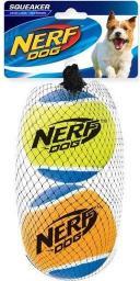 HAGEN Nerf Piłka Tenis Piszcząca Duża 2szt