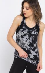 4f Koszulka damska H4Z17-TSDF001 czarno-biała r. S