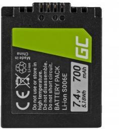 Akumulator Green Cell DMW-BMA7/CGA-S006 do Panasonic (CB58)