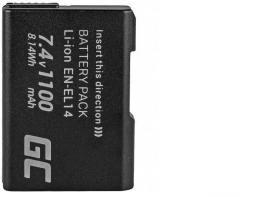 Akumulator Green Cell EN-EL14 do Nikon (CB44)