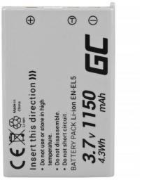 Akumulator Green Cell EN-EL5 do aparatów Nikon (CB45)