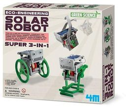 Russell Green Science - Mini Robot solarny 3w1