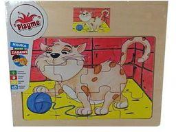 Playme Puzzle drewniane Kot