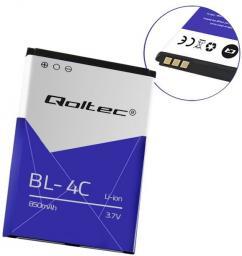 Bateria Qoltec do smartfona Nokia 6100 6300 BL-4C 850mAh (52082.BL-4C)