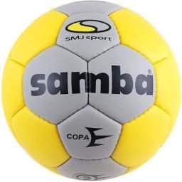 SMJ sport Piłka ręczna Samba Copa Ladies szaro-żółta r. 2 (5382)