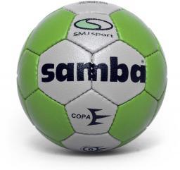 SMJ sport Piłka ręczna Samba Copa Mini biało-zielona r. 0 (5603)