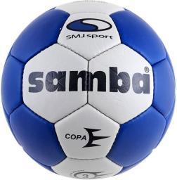 SMJ sport Piłka ręczna Samba Copa Men biało-niebieska r. 3 (5383)