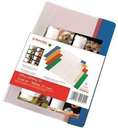 Panta Plast Okładka na zeszyt A4 PVC (8szt) MIX + naklejki (235676)