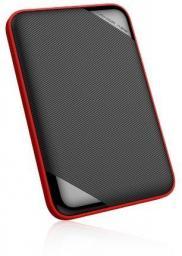 Dysk zewnętrzny Silicon Power HDD Armor A62 1 TB Czarno-Czerwony (SP010TBPHD62SS3K)
