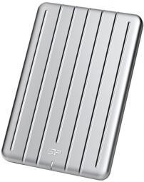 Dysk zewnętrzny Silicon Power HDD Armor A75 1 TB Srebrny (SP010TBPHDA75S3S)