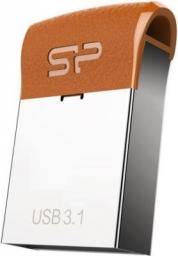 Pendrive Silicon Power Silicon Power Pamięć USB Jewel J35 32GB USB 3.1 COB metal Brązowa - SP032GBUF3J35V1E