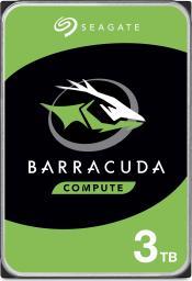 """Dysk Seagate BarraCuda 3 TB 3.5"""" SATA III (ST3000DM007)"""