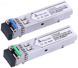Moduł SFP ExtraLink Moduł  SFP 1.25G WDM 1310/1550NM 20KM LC,  singlemode fiber (ex.6204)