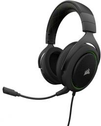 Słuchawki Corsair HS50 Green (CA-9011171-EU)