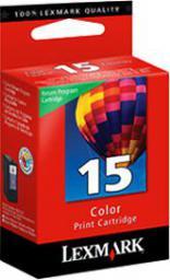 Lexmark tusz nr 15 (018C2110E) Color