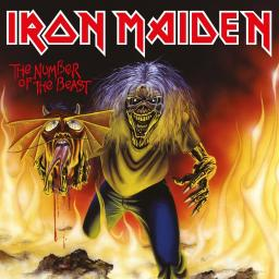 ROCK IRON MAIDEN THE NUMBER OF THE BEAST (7') - LIMITED