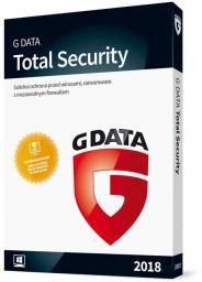 Gdata Total Security 2018 1 urządzenie 1 rok BOX (090169)