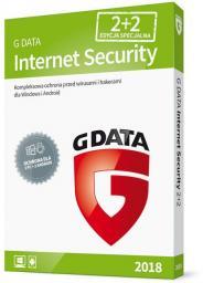 Gdata Internet Security 2018 4 urządzenia 20 miesięcy BOX (090175)