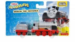 Fisher Price Tomek i Przyjaciele, Mała lokomotywa Merlin (DWM30/DXR59)