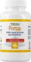MYVITA MyVita Cytrynian Potasu 100g - 82940