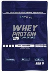 FIT WHEY  Whey Protein 100 Concentrate Peanut Butter 900g