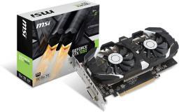 Karta graficzna MSI GeForce GTX 1050 2GT OCV1 2GB GDDR5 (128 bit), DVI-D, HDMI, DisplayPort, BOX (GTX 1050 2GT OCV1)