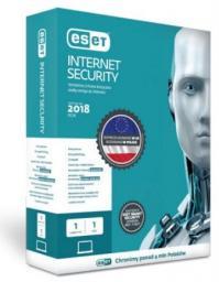 ESET Internet Security 1 urządzenie 3 lata Kontynuacja BOX