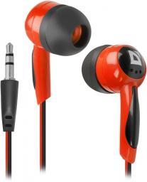 Słuchawki Defender Basic 604 Czarno-czerwone (63605)