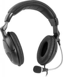 Słuchawki z mikrofonem Defender Orpheus HN-898 Black (63898)