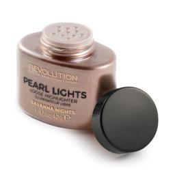 Makeup Revolution  Pearl Lights Loose Highlighter Rozświetlacz w pudrze Savana Nights  25g