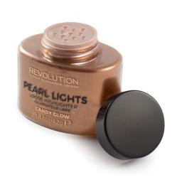 Makeup Revolution  Pearl Lights Loose Highlighter Rozświetlacz w pudrze Candy Glow  25g