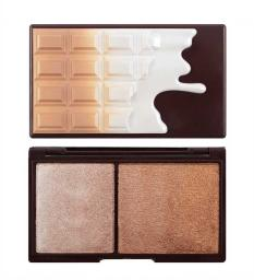 Makeup Revolution I Heart Makeup Chocolate Bronze & Shimmer - Paletka Do Konturowania Twarzy 11g